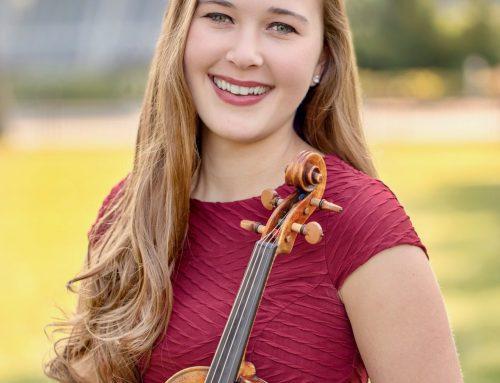 Katelyn Lyons Peaden, co-concertmaster