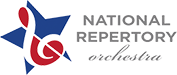 National Repertory Orchestra (NRO) Logo